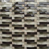 arch glass mosaic tiles