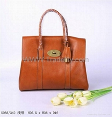 Mulberry Leather Bayswater Tote Bag Handbag 5988 in Real Leather