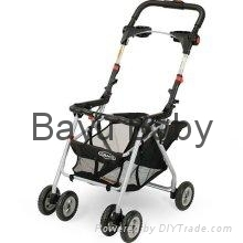 Graco SnugRider Infant Car Seat Frame Stroller 6001BCL1