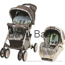 Graco Spree Travel System - Barcelona Bluegrass 7E03BRB3