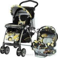 Chicco Cortina KeyFit 30 Travel System in Miro