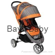 Baby Jogger 81109 2011 City Mini Strollers Orange-Gray