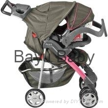 Evenflo Aura Stroller and Embrace Infant Car Seat in Alhambra