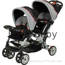Baby Trend Sit N Stand Double Stroller - Millennium SS76773