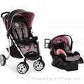 Safety 1st Aerolite Sport Baby Travel System in Eiffel Rose