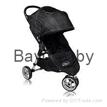 Baby Jogger 2011 City Mini Single Stroller - Black/Black