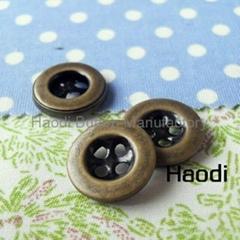 4孔铜皮扣