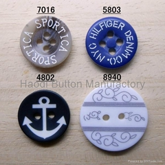 Laser Polyester Button