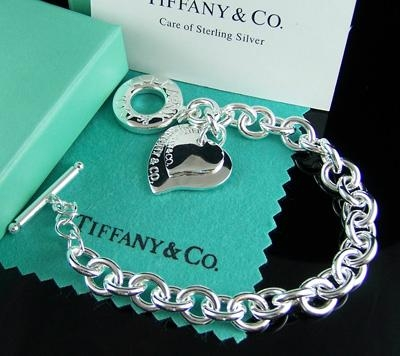 tiffany supplier com cheap silver heart tiffany bracelet