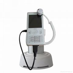 智能手機防盜充電展示架