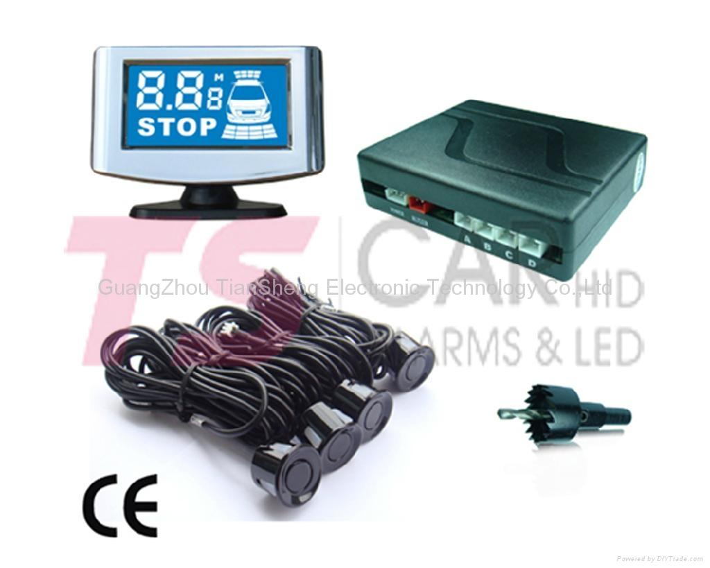 Auto Parking sensor for car accessory MODEL: TS-P5248B (Mini LCD) 1