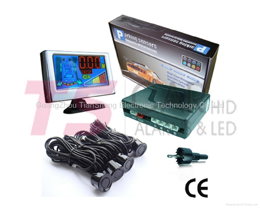 Auto Parking sensor for car accessory MODEL: TS-P5248B (Mini LCD) 2