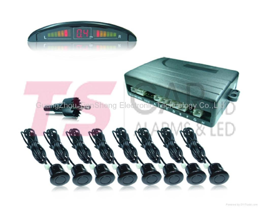 Auto Parking sensor for car accessory MODEL: TS-P5248B (Mini LCD) 4