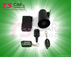 Car security system with new remote controller