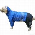 wholesale pet clothes large dog raincoat