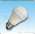 5W高檔陶瓷球泡燈,10年使用