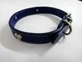 深蓝色时尚宠物项圈 2