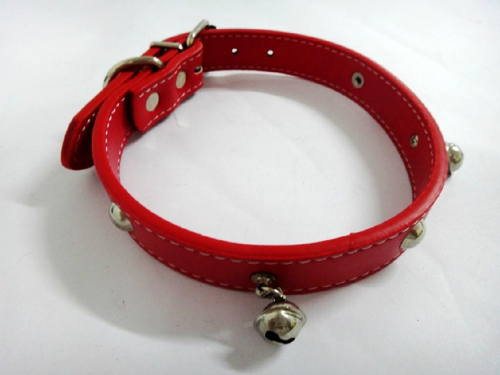 2011红色时尚宠物项圈 1