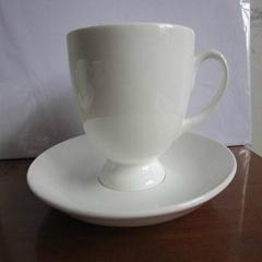 唐山骨瓷白胎浩敏杯