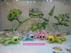Solar toy tortoise solar