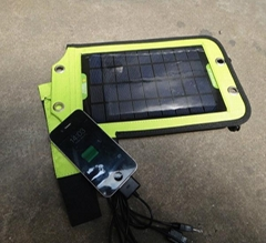 Portable Solar Charger+3.5W Mono Solar Panel+USB Battery Charger w/ Controller