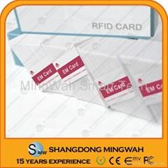 13.56Mhz RFID Mifare card White Blank card