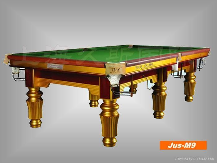 久斯牌美式台球桌----9800 1