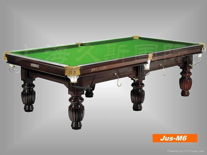 久斯牌美式台球桌---9800 1