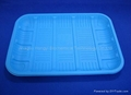 disposable cutlery Starch-based food tray HYT-01 1