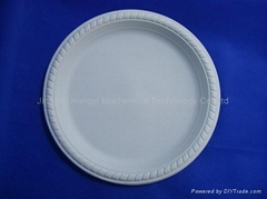 Corn Starch Disposable Tableware Compostable Plate HYP-9