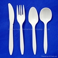 Biodegradable Disposable Cutlery 6'