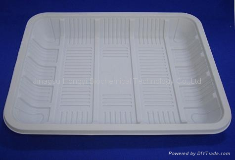 Biodegradable meat tray HYT-03 1