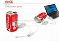可樂罐立體聲音箱