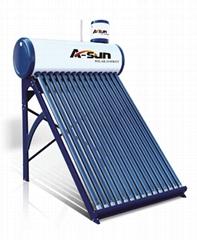 A-sun Pre-heated Pressure Solar Water Heater