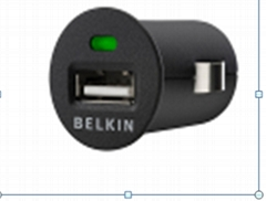 belkin car charger for iphone 4g 3gs 3g