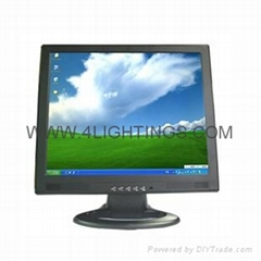 "17""  Lcd Touch screen Monitor with 4 wire /5 wire resistive 17 inch touchscreen"