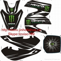 Sell Monster Graphic Sticker