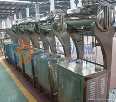 Beer filling machine with two head