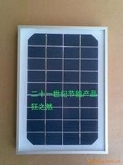 5W太陽能單晶層壓板270*2