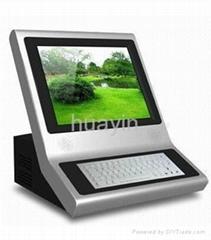 Desktop touch kiosk