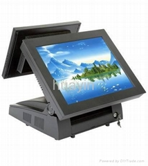 Dual Monitors Touch POS