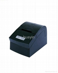Thermal receipt printer with cutter