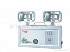 Double heads 8 led high-brightness emergency light