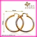 Wholesale gold hoop earrings