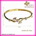 Sunny jewelry custom 18k gold bangle and bracelets jewellery 2