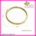 Sunny jewelry custom 18k gold bangle and bracelets jewellery 3