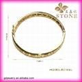 Sunny jewelry custom 18k gold bangle and bracelets jewellery 4