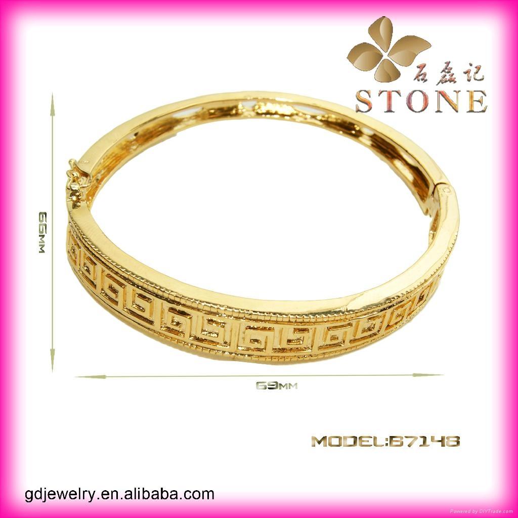 Sunny jewelry custom 18k gold bangle and bracelets jewellery 5