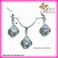 Vogue silver jewelry rhinestone jewelry