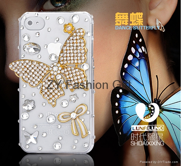 2012 Fashion Phone Case With Diamond Zy China Manufacturer